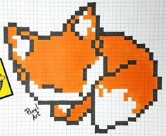 Easy Perler Bead Patterns, Diy Perler Beads, Perler Bead Art, Cross Stitch Patterns, Graph Paper Drawings, Graph Paper Art, Broderie Simple, Modele Pixel Art, Pixel Drawing