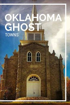 With a history full of Land Runs, Native American territories, Civil War battles and railroads, Oklahoma's past is full of towns that sprung up overnight and faded away just as quickly - they also make for great road trips.