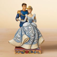 Jim Shore Disney - Cinderella & Prince