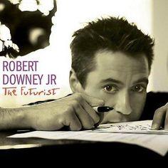 Precision Series Robert Jr. Downey - The Futurist, Grey