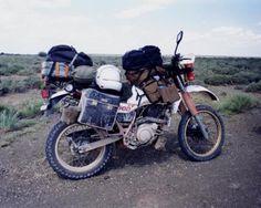 Legendary Yamaha XT overland bike. 1993 my friend Nardus travelled Africa on a Yamaha. The original adventure bikers.