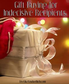 Do you ever ask a friend/family member etc. what they want for Christmas and they either don't know or can't decide? This is a great list of gifts for any type of person... And most of them are inexpensive!