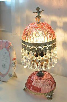 フリマで購入♪イタリー製のランプ