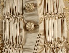 1875-78 ___ Dinner Dress by Mon. Vignon ___ silk & glass ___ French (Paris) ___ at The Metropolitan Museum of Art ___ photo 7