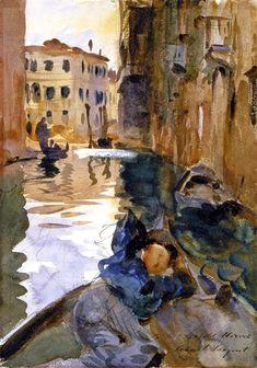 ART & ARTISTS: John Singer Sargent - part 12
