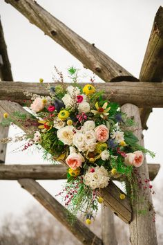 Rutgers Log Cabin Wedding: Location: New Brunswick, NJ / Photographer: Christina Lilly Photography / Venue: Rutgers Gardens and Log Cabins / Flowers: Wall Flowers