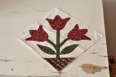 Quilting with the Past: Tulips