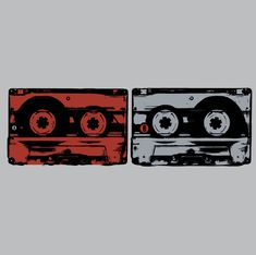 so iconic. the cassette tapes.