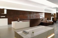 Modern Natural Bath Fittings & Accessories Bathroom