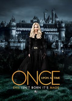 Awesome Emma (Dark Swan/One) on an awesome Once poster for awesome Once Evil Isn't Born It's Made Emma Swan, Once Upon A Time, Killian Jones, Ouat, Robin Hood, Netflix, Bbc Musketeers, Dark Swan, Swan Queen