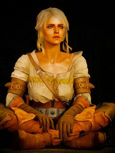 THe witcher ciri Ciri Witcher, Witcher Art, Geralt And Ciri, Video Game Characters, Fantasy Characters, Female Characters, The Witcher Wild Hunt, The Witcher 3, Overwatch