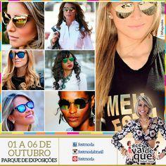 Para o verão 2016 há uma tendência em óculos de sol que chega com força: os óculos comlentes espelhadas. Esta é uma tendência que parece que veio para ficar e vamos poder encontrar as lentes espelhadas de várias cores, como verde, amarelo, azul, rosa, vermelho e até prata, e em diferentes formatos de óculos de sol. Pode até jogar com as cores das lentes e as cores da sua roupa e conseguir um look super estiloso. Aposte em um modelos de óculos espelhados e fique super na moda neste verão…
