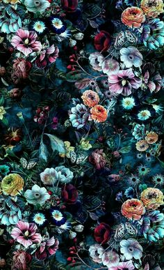 How to Create Absolutely Beautiful Flowers with Coffee Filter Art Beautiful dark flowers. Wallpaper Flower, Wallpaper Backgrounds, Nature Wallpaper, Floral Backgrounds, Pattern Wallpaper, Windows Wallpaper, Trendy Wallpaper, Wallpaper Quotes, Floral Wallpaper Phone