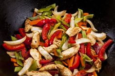 A simple Stir-fried chicken recipe for you to cook a great meal for family or friends. Buy the ingredients for our Stir-fried chicken recipe from Tesco today. Chicken Stir Fry, How To Cook Chicken, Fried Chicken, Chicken Saute, Vegetable Recipes, Chicken Recipes, Thermogenic Foods, Chicken Protein, Honey And Soy Sauce