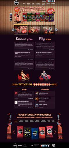 Site da Prudence com destaque para a edição especial Vintage. Site em HTML5 e integração de conteúdo com as redes sociais.