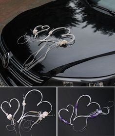 Bridal Car Deco Car Jewelry Wedding Car Auto Wedding Jewelry Heart / 2 Colors in Clothing & Accessories, Wedding & Special Occasion, Other Bridal Car, 2 Colours, Wedding Flowers, Wedding Decorations, Floral, Wedding Cars, Wedding Things, Wedding Ideas, Color
