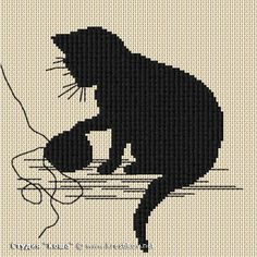"Scheme ""Kitten with a ball"" 