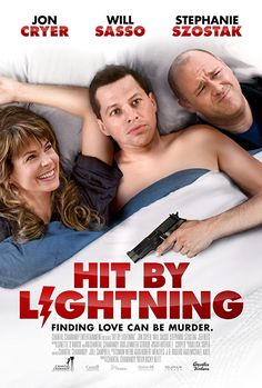 There have been a few posts about bad movie posters but without any mention of this disasterpiece. I give you Hit By Lightning