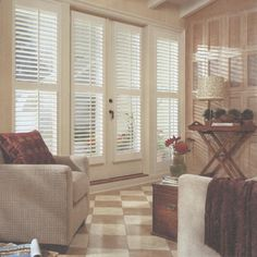 Plantation Shutters - for my living room windows