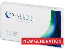 TopVue Air for Astigmatism (3čočky) - TopVue