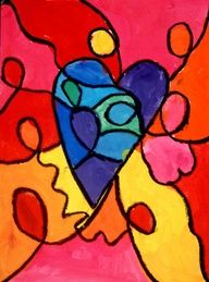 warm and cool hearts first grade - Google Search