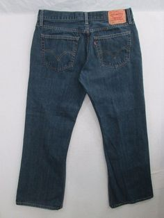 Levi Strauss & Co. 527 Jeans Men's Boot Cut Tag Size 36X30 Measures 34X29 #435 #LeviStraussCo #BootCut