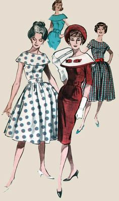 Vintage 50s Sewing pattern Butterick 9031 Cape by sandritocat, $15.00