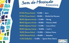 Programação gratuita de shows do Mercado Público dessa semana com muita diversidade!!!  Acesse www.portodailha.com.br e reserve na melhor localização do centro de Floripa. F:3229-3000 contato@portodailha.com.br
