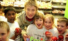 Jamie Oliver- Trying to save our schools from obesity problems