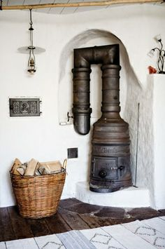 So called Mountain stove from Norway.