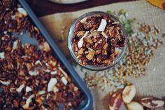 Chocolate Brazil Nut Gluten-Free Superfood Granola Recipe