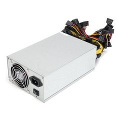 2000W Bitcoin Mining Miner Power Supply For Ethereum 90 Gold 180-260V