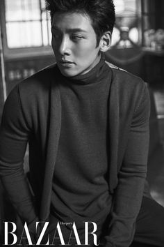 Actor Ji Chang-wook was featured in the September issue of the magazine Bazaar. Ji Chang-wook featured in the magazine as Kim Je-ha from the drama 'The He appeared strong and homme fatale. Asian Actors, Korean Actors, Asian Boys, Asian Men, Ji Chang Wook Photoshoot, Ji Chang Wook Healer, Ji Chan Wook, Song Joong, Park Hyung