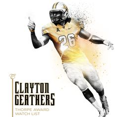 Clayton Geathers has started every game of his career, and was recently added to the Thorpe Award watch list for the best defensive back in the nation. Ucf Football, Ucf Knights, Defensive Back, Career, Game, Watch, Random, Carrera, Clock