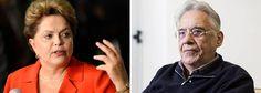 """G.H.: Dilma rebate FHC: """"Eles não dão importância ao pov..."""