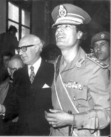 Muammar Al- Gaddafi