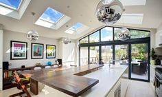 roof light for flat roof of south facing extension - Google Search