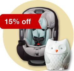create a target baby registry and get %15 percent off of everything left on the list after baby is born