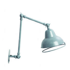 Vintage Style Wall Lamp in Grey