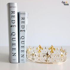 Epic Reads (@epicreads) on Instagram: Red Queen hardcover and the new Red Queen paperback by Victoria Aveyard  (Photo by @margotmwood)