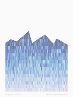 giuseppe gallo abstracts mecanoo's architecture for pattern poster series