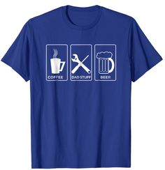 12.90$ COFFEE DAD STUFF BEER T-Shirt Cute Fathersday Gift #tshirt #shirt #tee #fathersday #fathersdaygiftidea #dadlove #amazon #amazonprime #gift #giftidea #lovedaddy #daddy Coffee Dad, Mothers Day T Shirts, I Love My Dad, Dads, Fathers, Mens Tops, Beer, Amazon, Gift