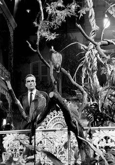 Montgomery Clift on the set of Suddenly, Last Summer (1959, dir. Joseph L. Mankiewicz)  Photographer: Burt Glinn