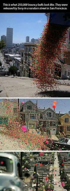 I would be the happiest kid of all time if this happened on my street!