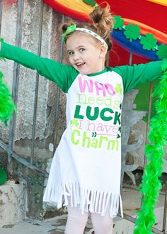 5b384a108535 40 Best St. Patrick's Day Outfits & Dresses for Girls and Boys ...