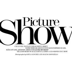 """MARIE CLAIRE MAGAZINE Zuzana Gregorova Bregje Heinen in """"Picture Show""""... ❤ liked on Polyvore featuring text, words, quotes, articles, backgrounds, magazine, fillers, headline, saying and phrase"""