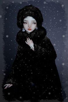 """ A doll in fur by Marina Bychkova. Marina Bychkova, Enchanted Doll, My Doll House, Gothic Dolls, Dream Doll, Doll Maker, Cosplay, Collector Dolls, Doll Crafts"