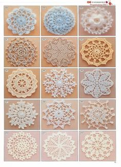 Free crochet patterns:-)