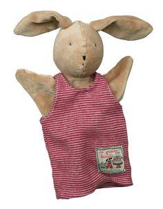 Moulin Roty Hand Puppet - Sylvain Rabbit