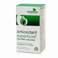 Futurebiotics Antioxidant Superfood, High ORAC Antioxidant 90 vegetarian capsules by AB. $31.99. Dietary Supplement  High ORAC Antioxidant clinically proven nutrients | mangosteen fruit complex XanthosteenTM - Nature's super-potent antioxidant for cellular protection against free radicals*  5000 ORAC units (Oxygen Radical Absorbance Capacity) per daily dose  Full spectrum fruits and other high ORAC ingredients for free radical protection*  Research has shown the...